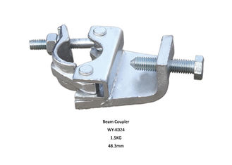China Q235 EN74 Drop forged scaffold girder clamps / Beam Coupler / Clamp supplier