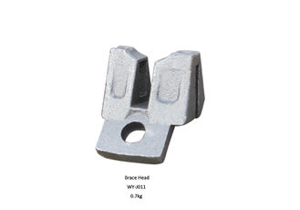 China En74 AS1576 Natural color Ringlock Scaffolding System Casting Ledger brace head supplier