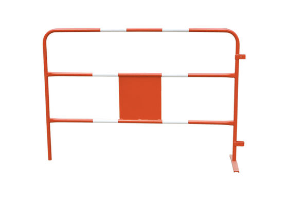 China Powder coated / galvanized crowd control steel barrier for traffic road supplier