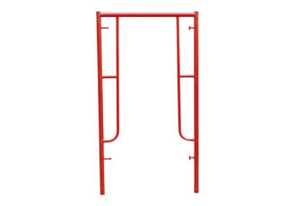 China Construction Building Walk through Frame Scaffolding System High strength steel tubing supplier