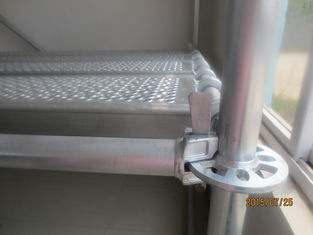All round / Layer / Ringlock Scaffolding System with jack base ledger brade and rosette