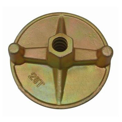 China CE Scaffolding Accessories , Formwork forged wing nut φ17 /  160kn for tie rod supplier