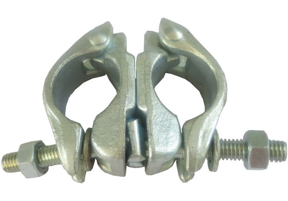 China Q235 Drop forged Forged Coupler scaffolding with HDG Zinc plating Surface supplier