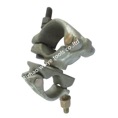 China High accurate Round tube Right angle Forged Coupler clamp Q235 48.3mm supplier