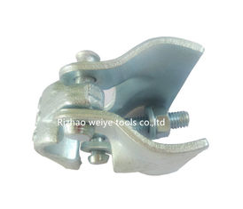China Accurate forged double putlog scafolding coupler with forged cap BS1139 0.8kg supplier