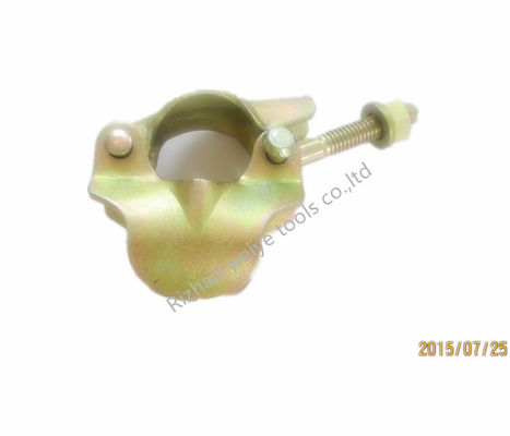 China Light duty Pressed coupler scaffold sleeve coupler 48.3mm 0.53kg color zincing supplier