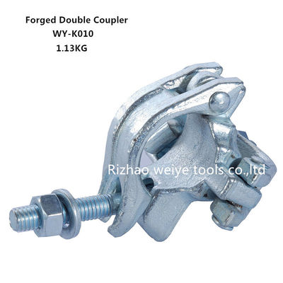 China BS1139 Drop forged double scaffold connectors UK types / Galvanized pipe fittings supplier