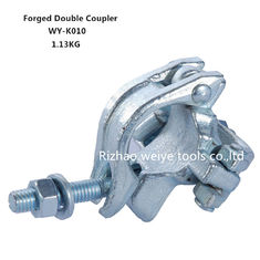 BS1139 Drop forged double scaffold connectors UK types / Galvanized pipe fittings