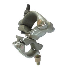 China High load capacity scaffolding swivel clamps , forged swivel coupler supplier