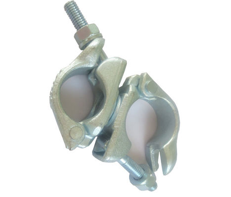China BS1139 Scaffolding Swivel Coupler type Double swivel pipe fittings supplier