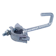 China Hot dip galvanized scaffold ladder clamps 1/2. t bolt 87mm , 23mm nut supplier