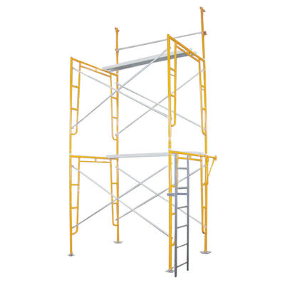 China Walk Through / Door Type Frame Scaffolding System Painting Building supplier