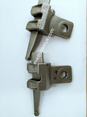 China Casted original color Ringlock Scaffolding System brace head diagonal end 0.69kg supplier