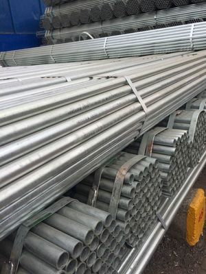 China Hot galvanized ringlock /cuplock scaffolding pipes and diameters supplier