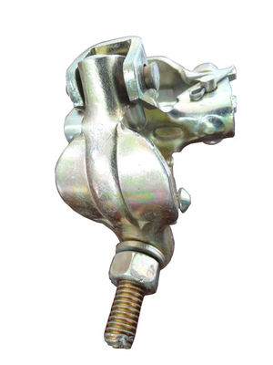 China Right angle double pressed coupler UK type BS1139 0.9KG scaffold sleeve coupler supplier