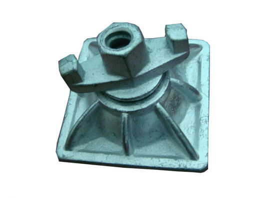China Scaffolding Accessories φ17 Zinced  Casted and  Forged swivel Square plat  Combi nut supplier