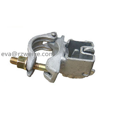 China Drop forged fixed Scaffolding Swivel Coupler  Single welding wedge coupler supplier