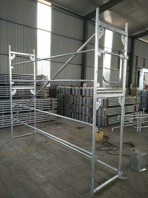 China ALuminum And Steel Stalowa Baumann Mostostal  System 0.73*2m H Frame Scaffold supplier