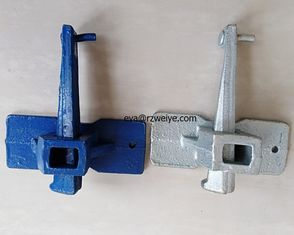 China Zinc plated QT450-10  510g paiting wedge coupler formwork clamp in stock supplier
