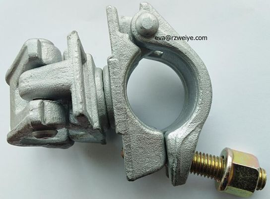 China 8.8 grade T- bolt flange nut 22mm forged swivel coupler  clamp supplier