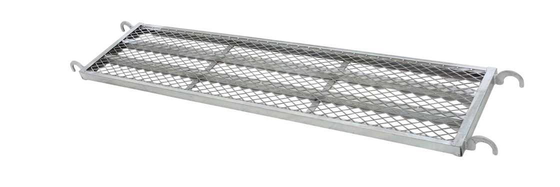 Security Steel Scaffold Planks : Mesh steel plank with hook for h frame scaffolding system