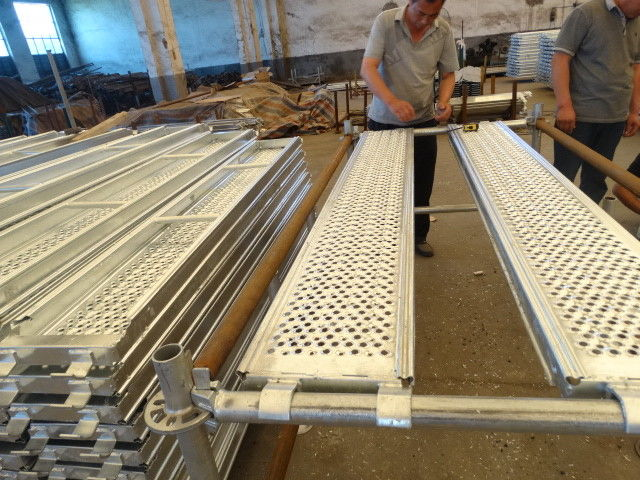 Security Steel Scaffold Planks : Pregalvanized aluminum scaffold planks boards for ringlock
