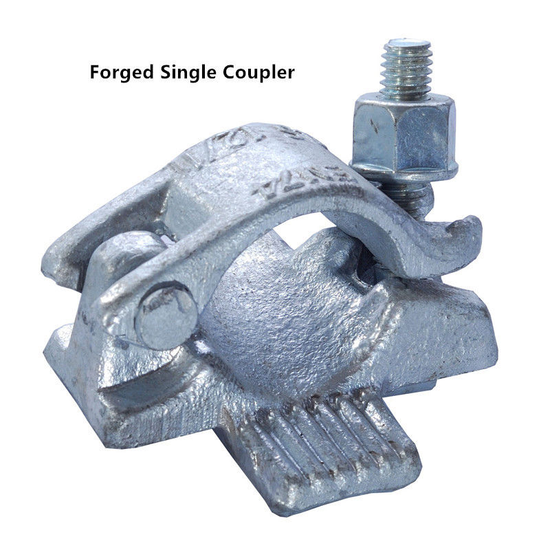 Scaffold Coupling : Forged single coupler scaffold hdg galvanized weld with