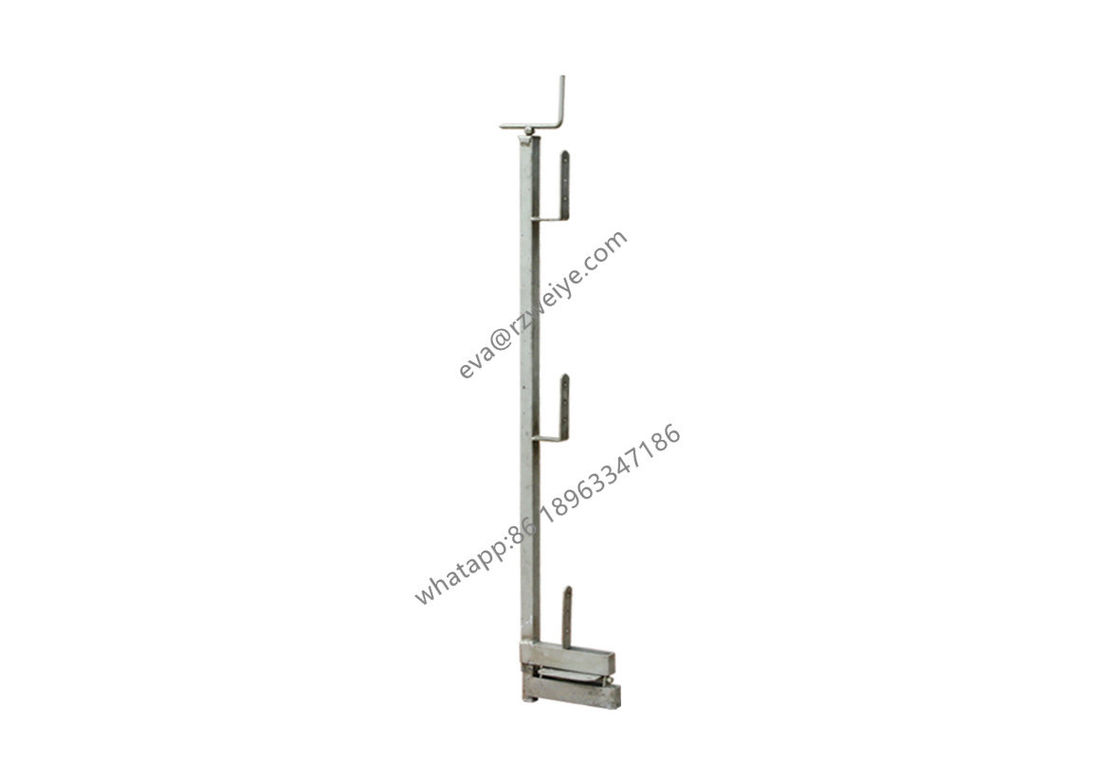 5kg Hot Dip Galvanized Guard Rail Post For Scaffolding Components
