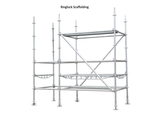 China HDG Q235 Q345 Ringlock Scaffolding System for high rise building distributor
