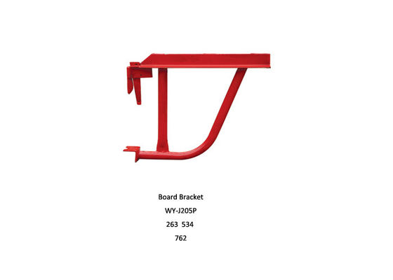 China Steel Kwikstage scaffolding System End Toe Board Bracket kwikstage scaffold distributor