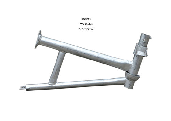 China Adjustable Cuplock Ladder scaffolding brackets with Painted / Natural Surface distributor