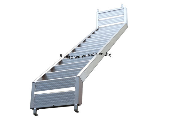 China Ringlock / Layer / All around aluminum scaffolding Ladder / stairs distributor