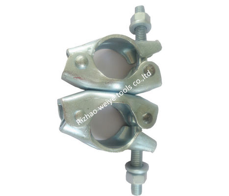 China Galvanized Surface anti rust Scaffolding Swivel Coupler for construction distributor