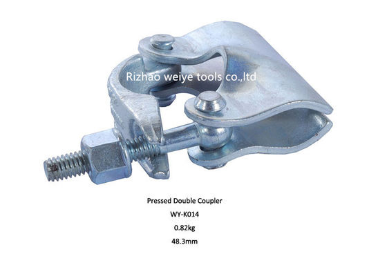 China Forged Scaffolding Single Coupler / hot galvanized putlog coupler distributor