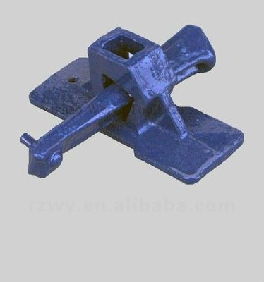 China Painted blue malleable iron wedged coupler scaffolding Accessories / Parts distributor