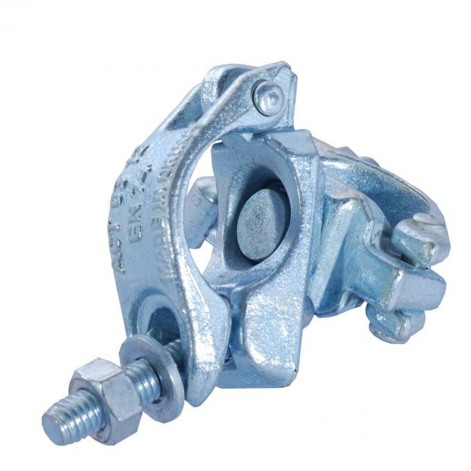 Heavy load Forged swivel scaffold double coupler / clamp with HDG Galvanized
