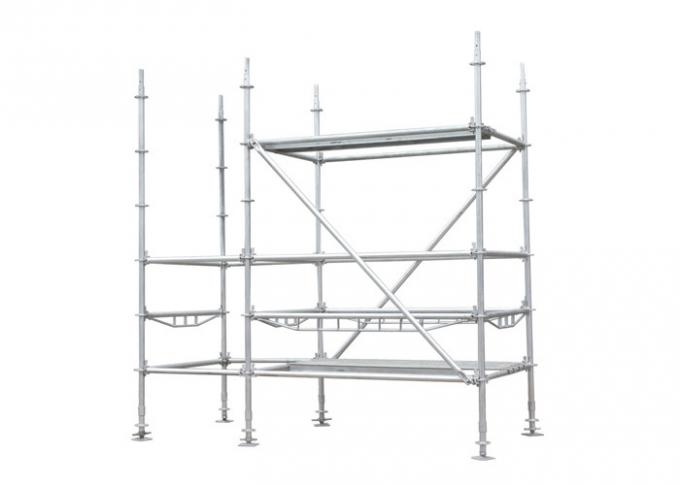 HDG Q235 Q345 Ringlock Scaffolding System for high rise building