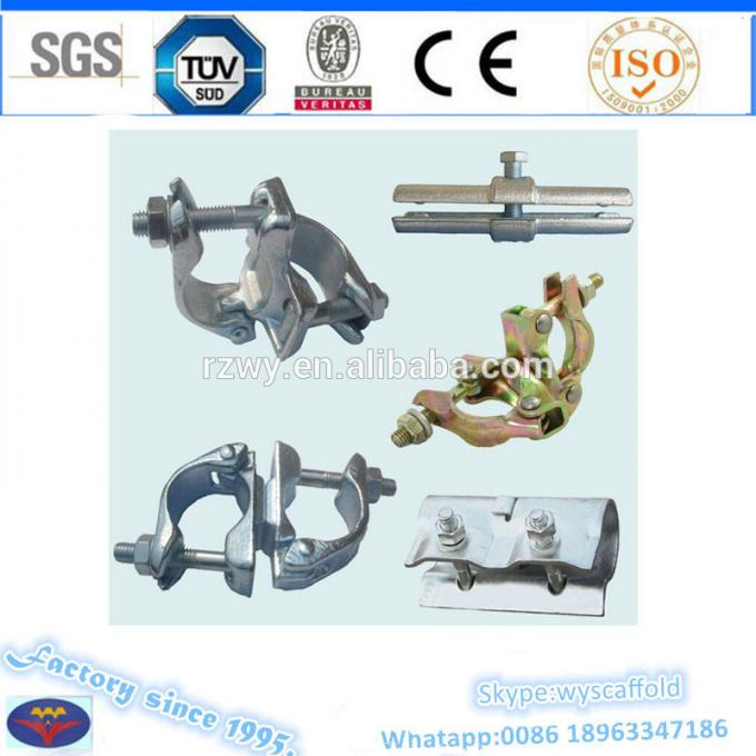 Steel double coupler scaffold swivel / right angle coupler 48.3 X 48.3mm