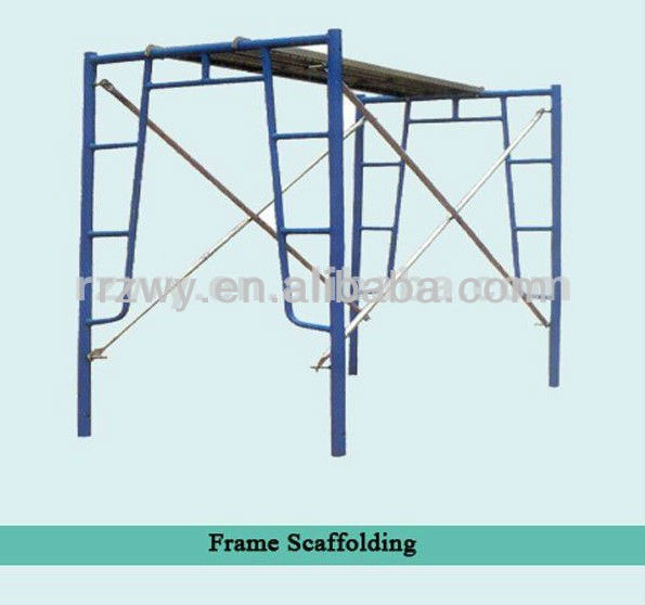 Walk Through / Door Type Frame Scaffolding System Painting Building