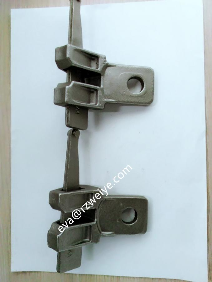 Casted original color Ringlock Scaffolding System brace head diagonal end 0.69kg